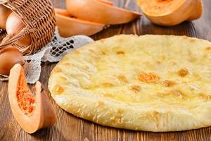 Пирог с тыквой (постный)