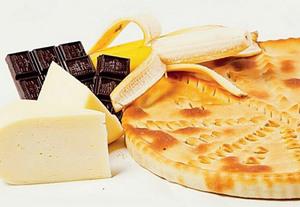 Пирог банан в шоколаде