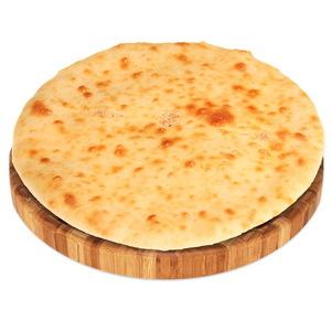Пирог с сёмгой, сыром и зеленью