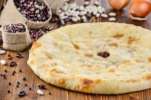 Пирог с фасолью (постный)